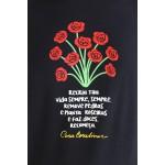 Camiseta Cora Coralina Recria Preta