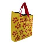 Book Bag com zíper Cora Coralina Amarela