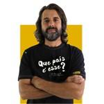 Camiseta Renato Russo - Que país é esse? Preta