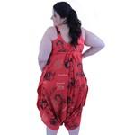 Vestido Saruel Frida Kahlo Vermelho