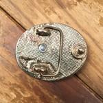 Fivela Infantil Espora Rodeio Metal