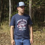 BONÉ TRUCKER ABA RETA GRINGA´s WAVE BLUE SNAPBACK