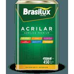 BRASILUX ACRILAR ACRÍLICO PREMIUM FOSCO 18L