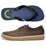 Kit Sapatenis Polo Culture + Chinelo Cafe