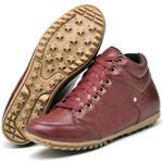 Bota Botinha Casual Top Franca Shoes Vermelho
