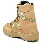 Bota Coturno Militar Top Franca Shoes Desert