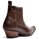 Bota Country Masculina Bico Fino Top Franca Shoes Cafe