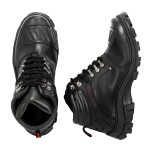Bota Adventure Motociclista Top Franca Shoes Preto
