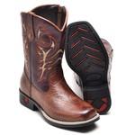 Bota Country Texana Infantil Top Franca Shoes Castor