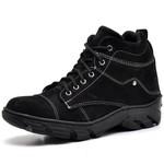 Bota Coturno Adventure Masculino Top Franca Shoes Preto / Branco