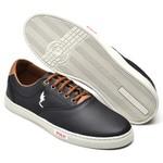 Sapatênis Casual Top Franca Shoes Preto.