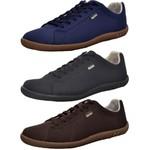 Kit 3 Pares Sapatênis Casual Top Franca Shoes Azul / Preto / Café