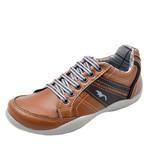 Kit 3 Pares Sapatênis Casual Infantil Top Franca Shoes Camel / Preto / Cinza