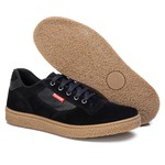 Tênis Sapatênis Casual Top Franca Shoes Preto.