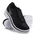Tênis Feminino Chunky Casual Top Franca Shoes Preto