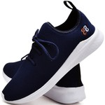 Tênis Masculino Esporte Fit Snap Shoes Azul