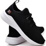 Tênis Masculino Esporte Fit Snap Shoes Preto