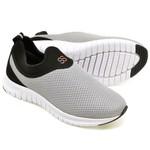 Kit 2 Tênis Masculino Esporte Fit Snap Shoes Azul / Cinza