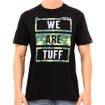 Camiseta Masculina We Are Tuff camuflado