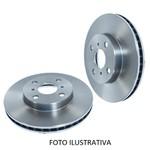 Par de disco freio dianteiro Santa Fé 3.5, Santa Fé 2.4, Santa Fé 2.7, Vera Cruz 3.8, Sorento 2.4 e 3.5 2010. Disco ventilado diametro 321mm e 05 furos