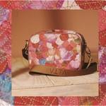 Bolsa de Tecido Vita Upcycling Tons de Rose