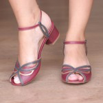 Sandália com Laser Chilli- 600-34