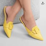 Mule Violanta Mónaco Amarelo