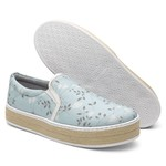 Slip-on Feminino Violanta Arizona Azul Floral