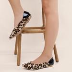 Sapatilha Violanta Austrália Leopardo