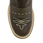 Bota Texana Masculina - Crazy Horse Café / Brown - Roper - Bico Redondo - Cano Médio - Solado Colorado - West Country - 81165-A-WC