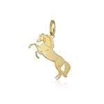 Pingente de Cavalo em ouro 18k