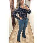 CALÇA FEMININA LOOPPER JEANS FLARE