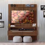 Painel Para Tv Até 60'' Caju Nogueira - Linea Brasil