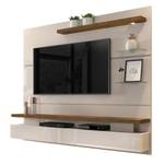 Painel Home Greco Para Tv Até 65'' Com Nicho Off White/Demolição - Dj Móveis