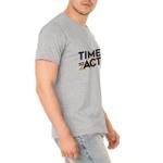 Camiseta Masculina Act Footwear - Cinza