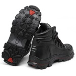 Bota Bell Boots Adventure/Motoqueiro 2050 - Preto/Vermelho