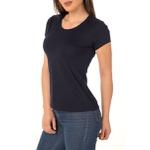 Camiseta Feminina Lisa - Preta