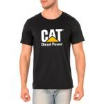 Camiseta Masculina Personalizada 100% Algodão - Preta