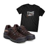Kit Bota ACT Explorer Café + Camiseta Preta