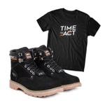 Bota ACT Second Shift Preto + Camiseta Preto