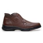 Sapato Zevio Masculino New Holland NHF2509 Original - Brown