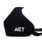 Máscara Anatômica Ninja Style Act Footwear - Preto