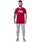 Camiseta Masculina Adaption Bordo