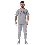 Camiseta Masculina Adaption Cinza