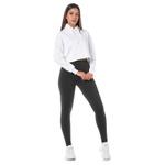 Cropped Branco Feminino Adaption