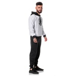 Moletom Masculino Adaption Originals Fist Branco/Preto