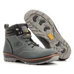 Bota Caterpillar Cinza Masculina Rally Hurricane