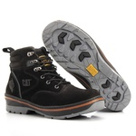 Bota Caterpillar Preta Masculina Rally Hurricane