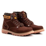 Bota Jhon Boots Masculina Second Shift Marrom