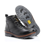 Bota Caterpillar Preto Masculina Rally Hurricane